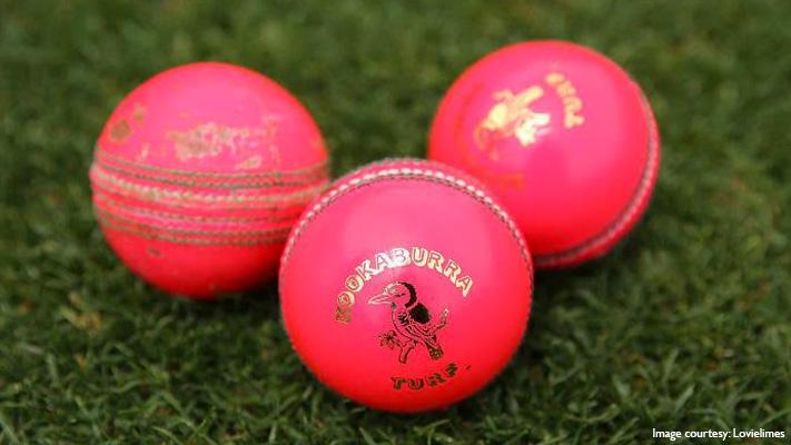 pink Kookaburra balls for day night test cricket