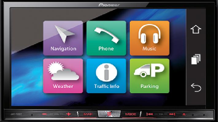Pioneer india Avic f60bt best Car Navigation System