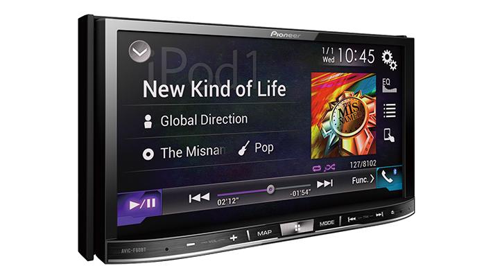 Pioneer india avic f60bt Car Entertainment System