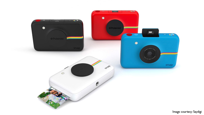 polaroid snap instant digital camera print photos