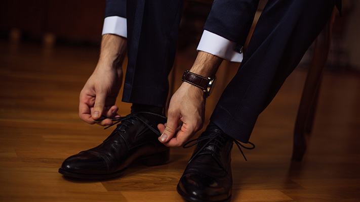 polished formal shoes quintessential office wear