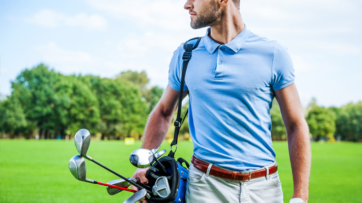 polo shirt classic golf style