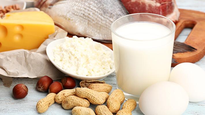 protein rich food hair growth