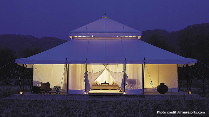 ranthambore best places to go glamping