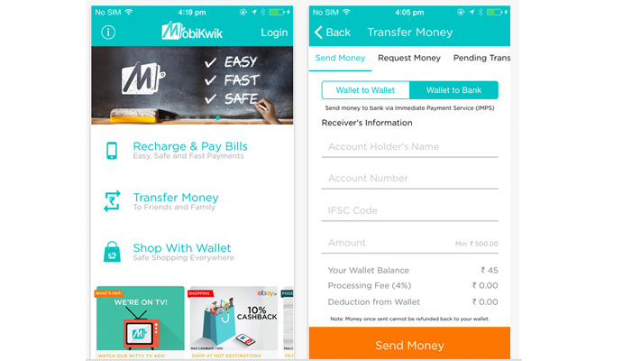 recharge phone pay bills on mobikwik