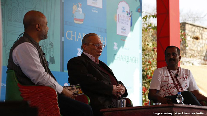 ruskin bond on borrowing from his own life