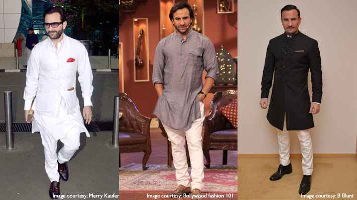 saif ali khan stylish bandhgala suit