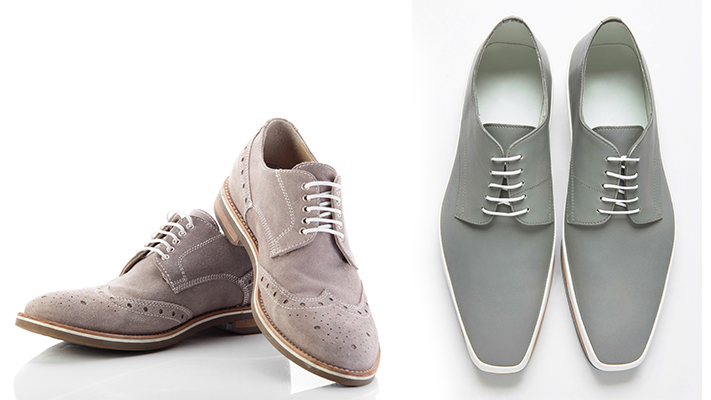 selecting the right grey shoes
