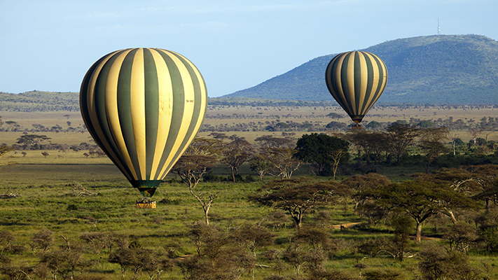 serengeti tanzania top hot air ballooning destinations