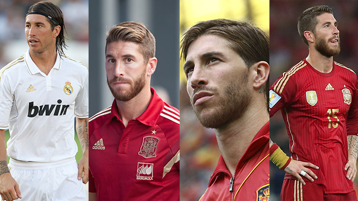 sergio ramos top stylish football players