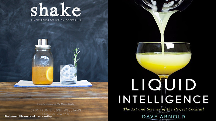 shake and liquid intelligence cocktail books