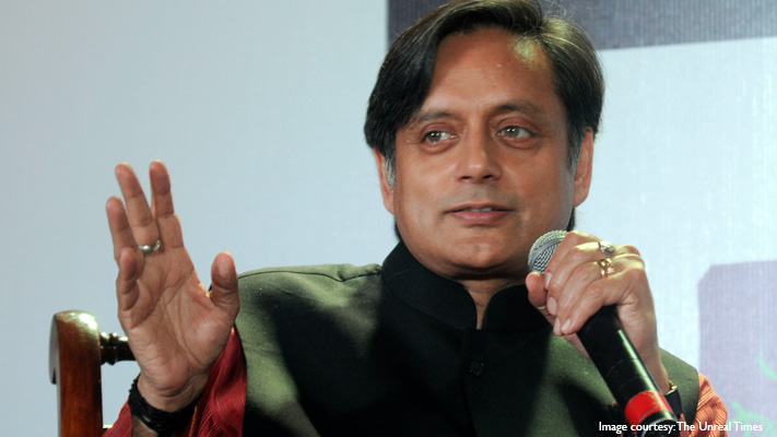 shashi tharoor impeccably dressed indian politician