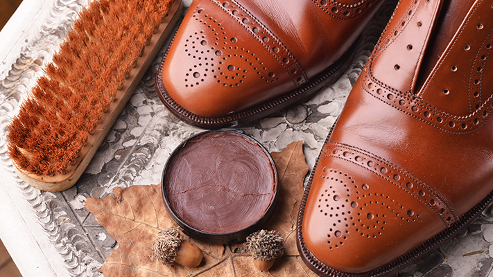 shine leather footwear care tips