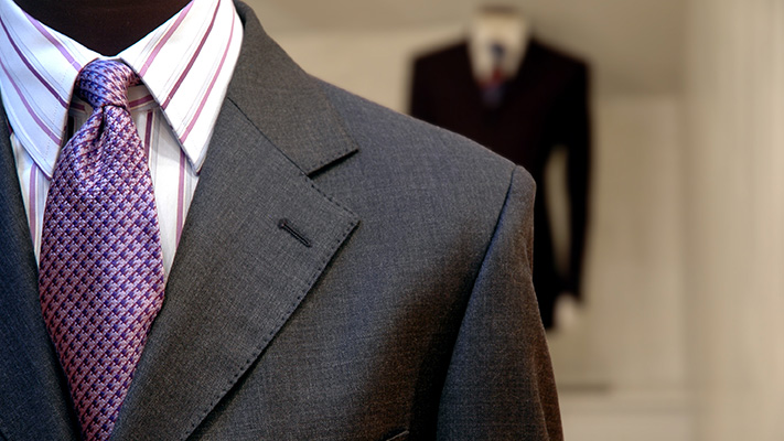 slim strip formal shirt perfect for wearing with suit