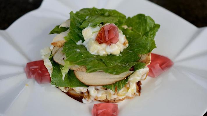 smoked chicken salad recipe