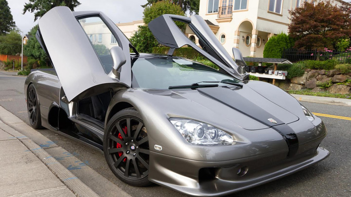 ssc ultimate aero high speed car in the world