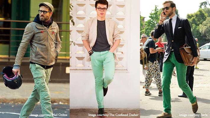 stylish green chinos christmas wardrobe