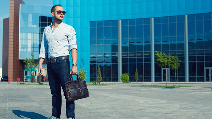stylish leather bag for sophisticated look