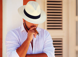 how to wear panama hat