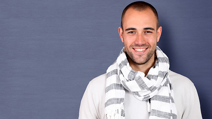 stylish scarf to wear this winter