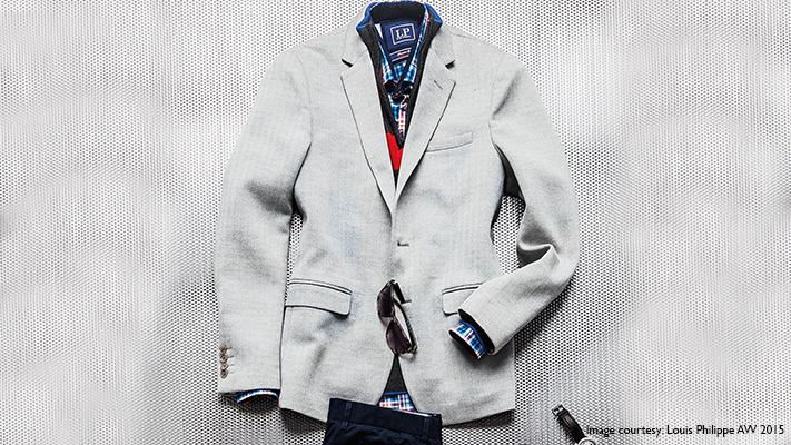 stylish suit jacket wear in winter