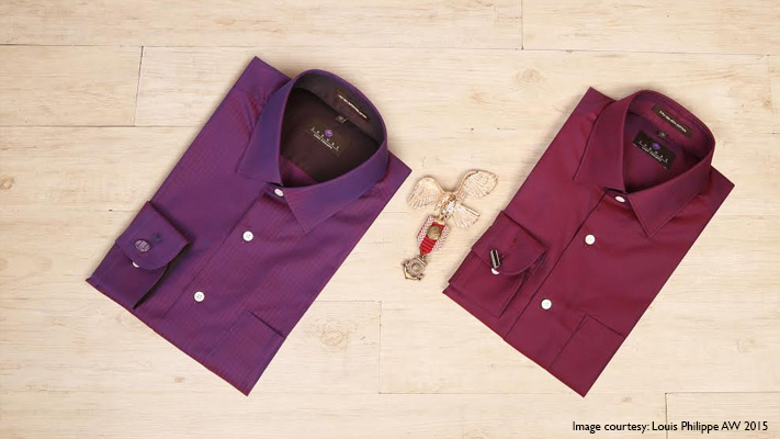 stylish wine colour shirts work wear for men
