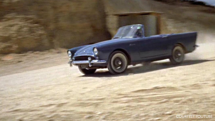 sunbeam alpine best james bond cars