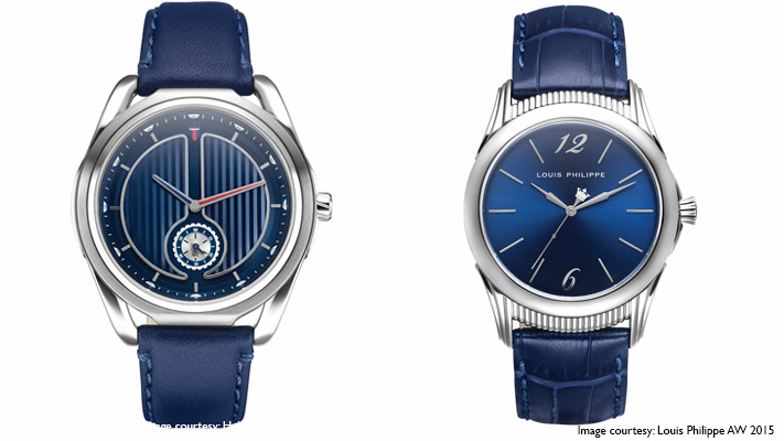 swiss made blue dial watch diwali gift