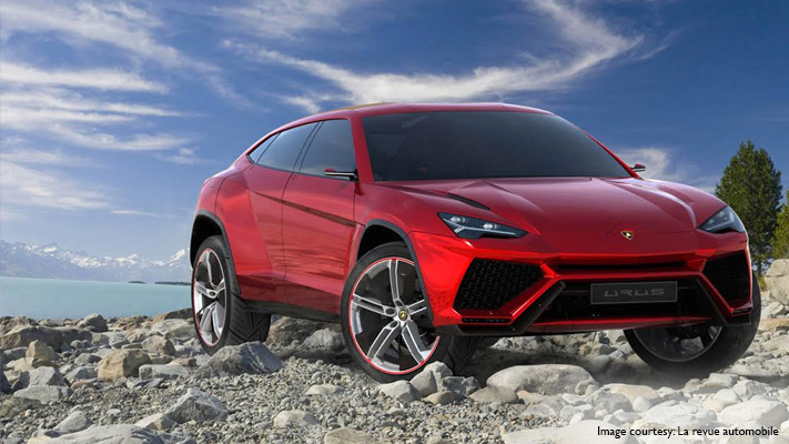 the classic lamborghini urus suv to be launched