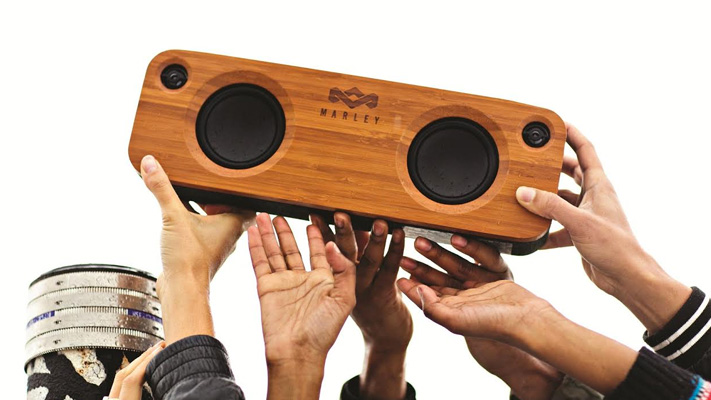 The house of marley get together Bluetooth Speakers