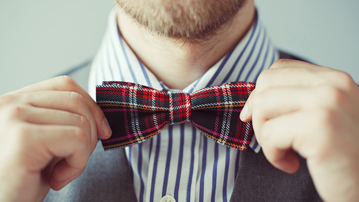 tips to sport bow tie summer style