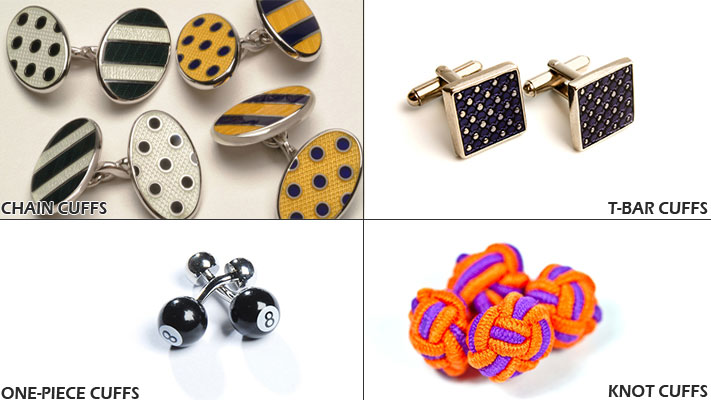tips to wear cufflinks right