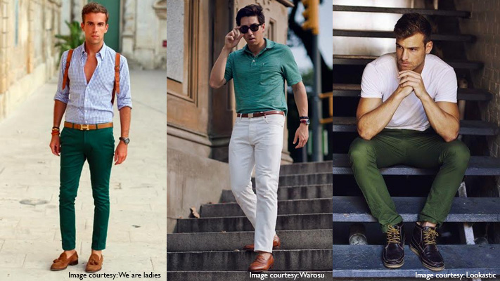 tips to wear green with white