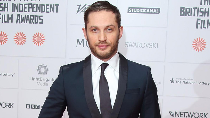 tom hardy the handsome legend in a suit