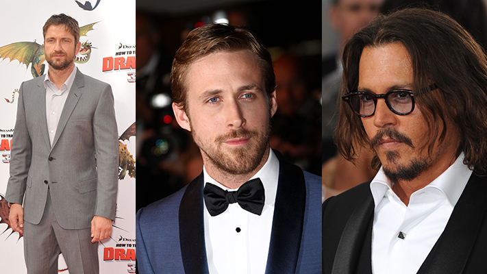 Top hollywood actors with Beard