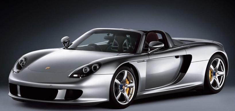 Top luxury cars you must drive Porsche Carrera GT