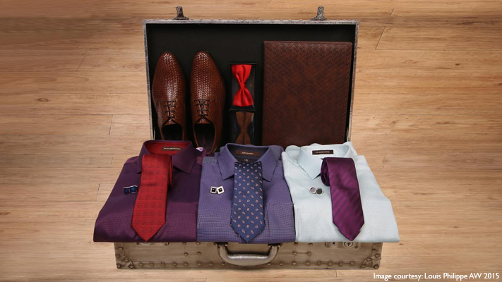 transform your look with textured shoes and trendy ties