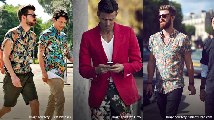 tropical prints latest style mens fashion