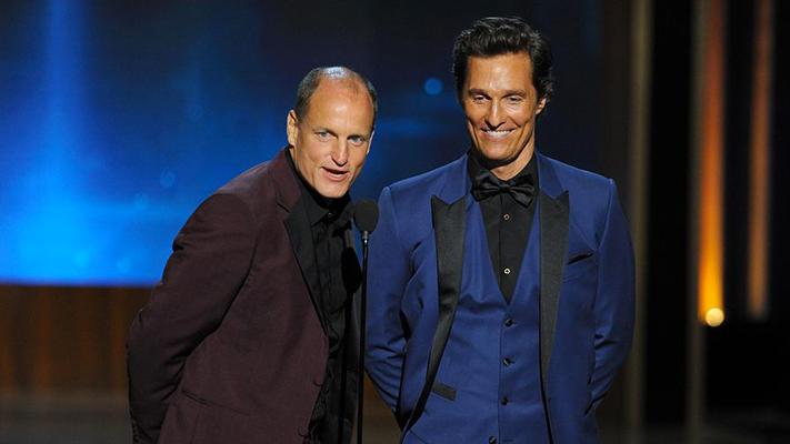 True detective cast Emmy 2014