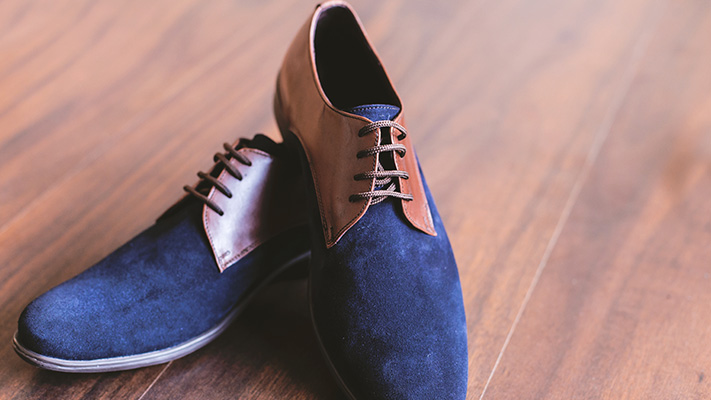 two toned shoes hot trend holiday wear
