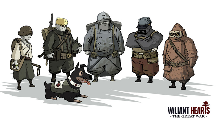 Valiant Hearts the great war top Puzzle games 2014