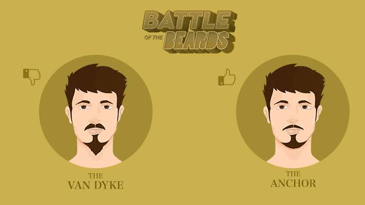 van dyke vs anchor beard