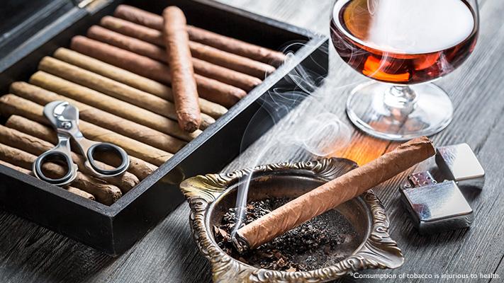 various cigar shapes sizes colours