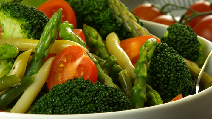 Keep calm and eat well Vegetables