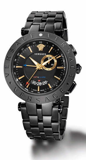 Versace v race gmt fashionable watches for men