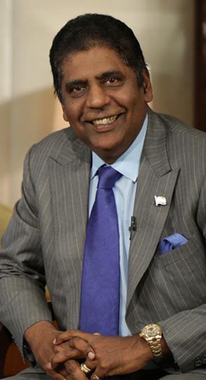 Vijay Amritraj rounds up wimbledon 2014