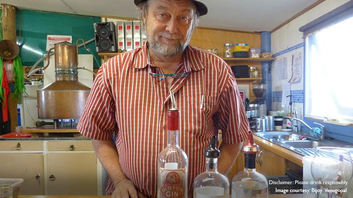 vodka at kangaroo islands spirit