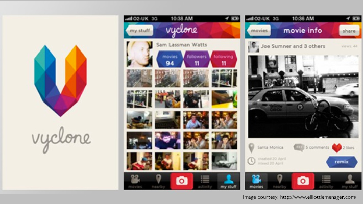 vyclone awesome video apps for smartphones