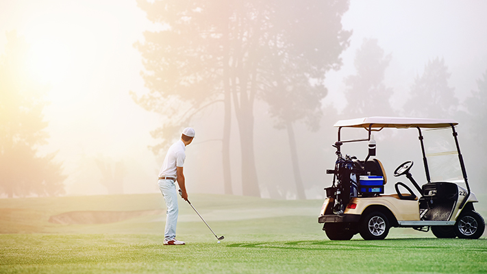 warm up before your golf game to perform better