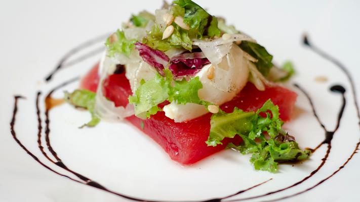 Watermelon salad indigo must visit restaurants mumbau